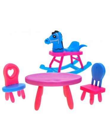 supamas arkliukas žaislinis