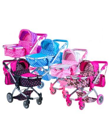 universalus lėlių vežimėlis