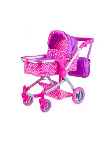 vežimėlis vežti lėlytėms