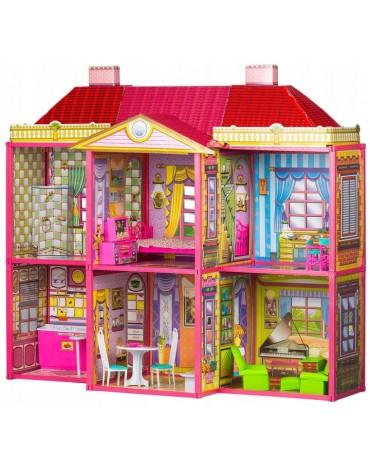 """Lėlių namelis """"Vila"""" EcoToys"""