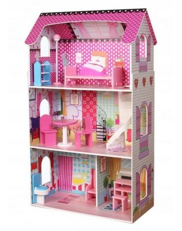 Lėlių namelis rožinė...