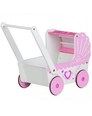 Retro lėlių vežimėlis - stumdukas
