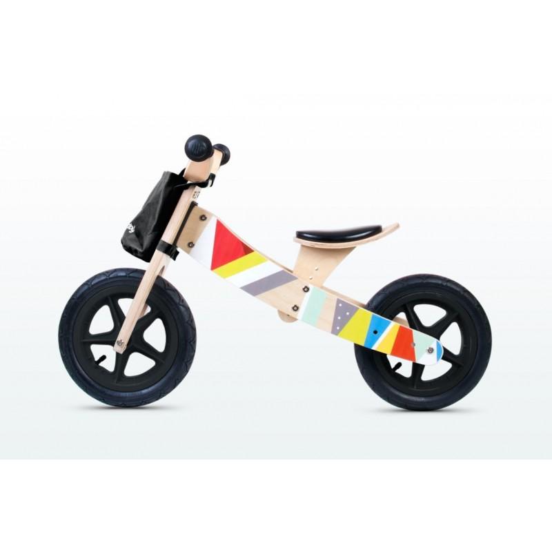 Du viename balansinis dviratukas ir triratukas viename