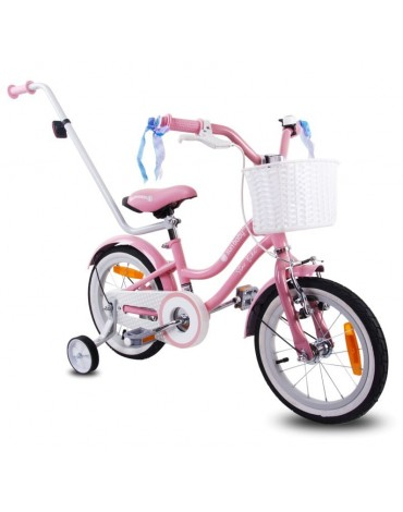 Mergaitiškas dviratukas 4-5 metai