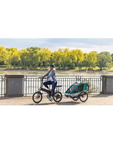 Naujausia Vokietijos gamintojo Qeridoo priekabėlė prie dviračio