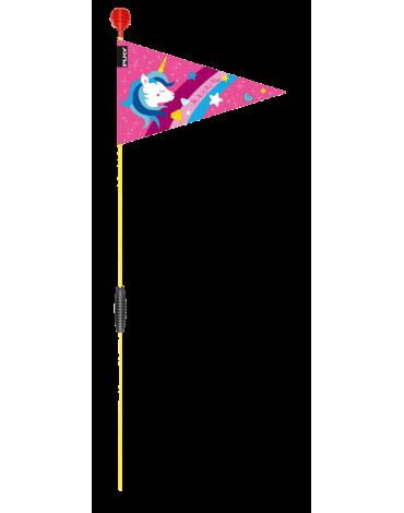Puky vėliavėlė  dviračiams rožinė