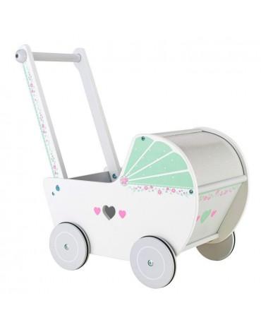 Medinis lėlių vežimėlis...