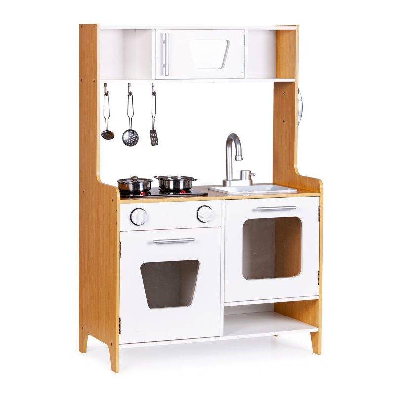 medinė virtuvėlė ecotoys plk534