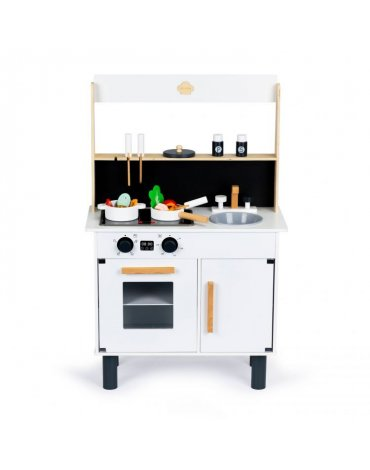 Medinė virtuvėlė su led...