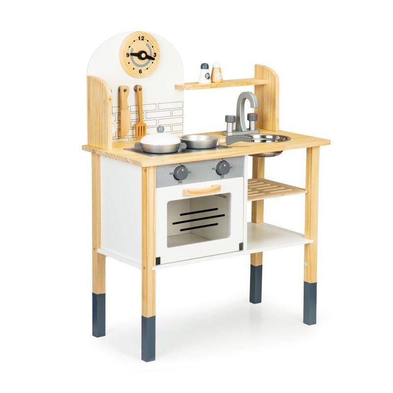 virtuvėlė su priedais ecotoys TL80021