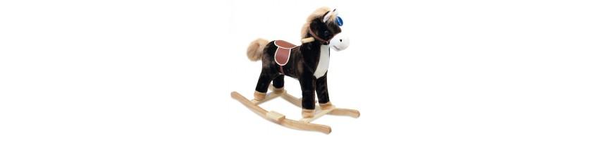 Mediniai arkliukai | supamieji žaislai