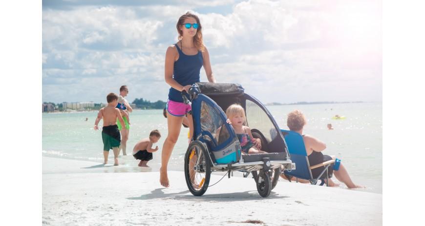 Qeridoo SPORTREX1 2017 dviračio priekaba - bėgimo vežimėlis